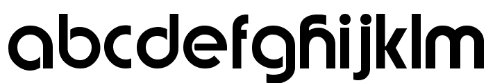 Brandish Regular Font LOWERCASE