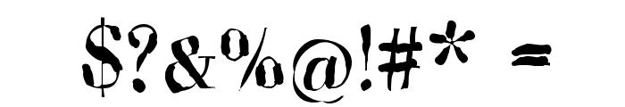 Brandomi-Medium Font OTHER CHARS