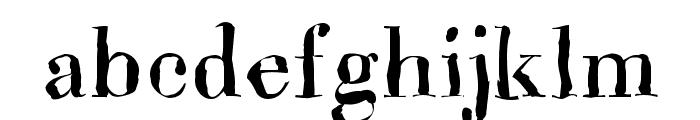Brandomi-Medium Font LOWERCASE