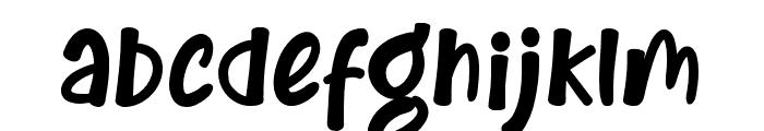 BrandonBromley Font LOWERCASE