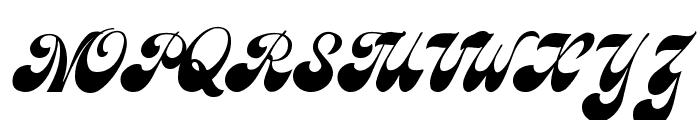Brandy Script Font UPPERCASE