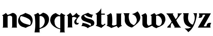 Brandywine  Normal Font LOWERCASE