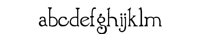 Brandywine Font LOWERCASE