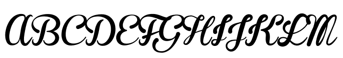 Brannboll F PERSONAL USE ONLY Font UPPERCASE