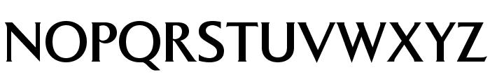 BrasileaOpti-Medium Font UPPERCASE