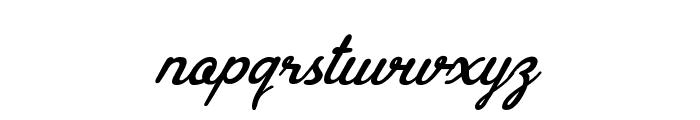 Brasileirinha Personal Use Regular Font LOWERCASE