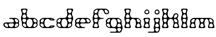 Brass Knuckle BRK Font LOWERCASE