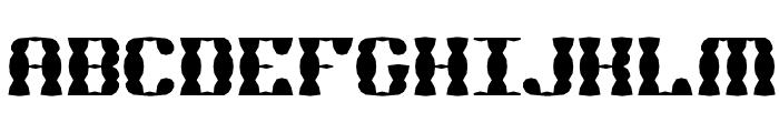 Brass Knuckle SS BRK Font UPPERCASE