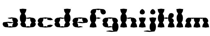 Brass Knuckle SS BRK Font LOWERCASE