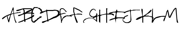 Brass-Monkey Font UPPERCASE