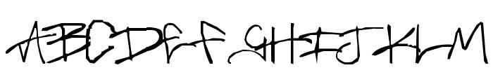 Brass-Monkey Font LOWERCASE