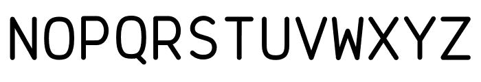 Brass Mono Regular Font UPPERCASE