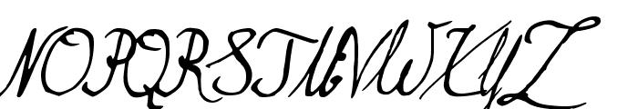 Brasserie Font UPPERCASE