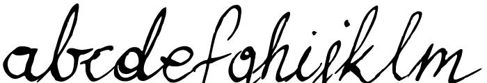 Brasserie Font LOWERCASE