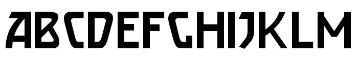 Brassett Font UPPERCASE