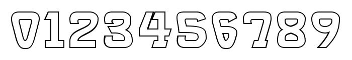 Brassett_Outline Font OTHER CHARS
