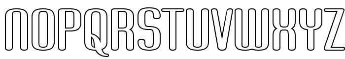 Brassiere Seethru Font UPPERCASE