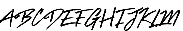 Brat Font UPPERCASE