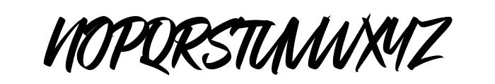 Bratt Graner Font UPPERCASE