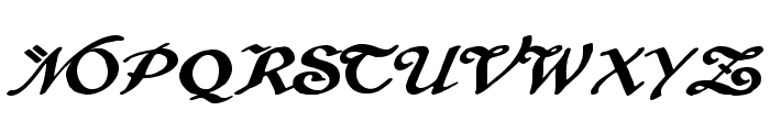 Brausepulver Font UPPERCASE