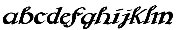Brausepulver Font LOWERCASE