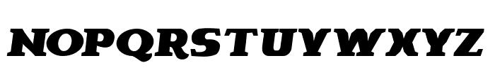 Brava-Italic Font UPPERCASE