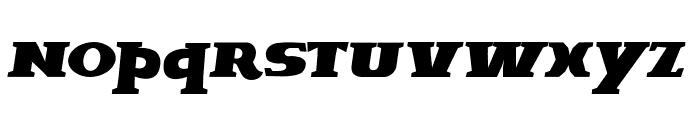 Brava-Italic Font LOWERCASE