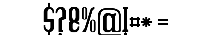 Brava Font OTHER CHARS