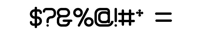 Brave New Era G98 Font OTHER CHARS