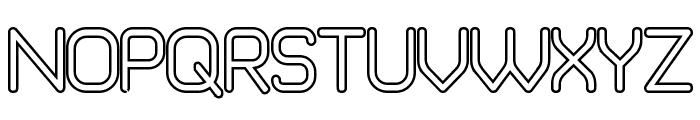 Brave New Era [outline] G98 Font UPPERCASE