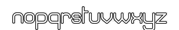 Brave New Era [outline] G98 Font LOWERCASE