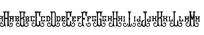 BraveGrams Font LOWERCASE
