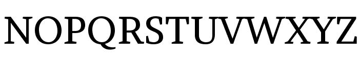 Brawler Font UPPERCASE