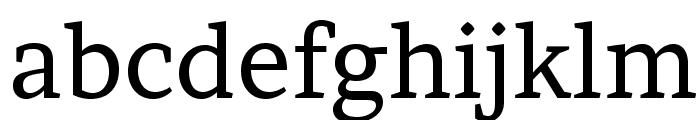 Brawler Font LOWERCASE
