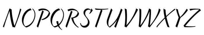 Braxton Font UPPERCASE