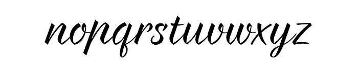 Braxton Font LOWERCASE