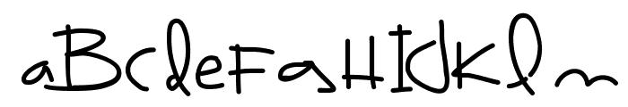BrazilFood3 Font LOWERCASE