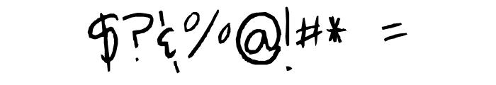 Breah's ahhh-mazingg handwritten font!! XD Font OTHER CHARS