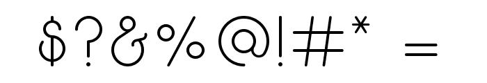 Break Fill Font OTHER CHARS