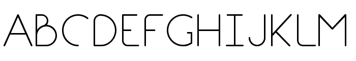 Break Fill Font UPPERCASE