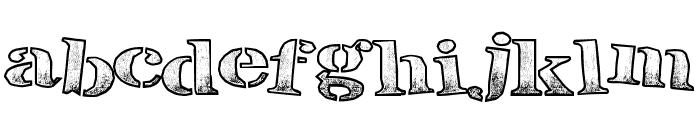 BreakTime Font LOWERCASE