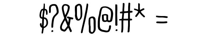 BreakfastDEMO Font OTHER CHARS