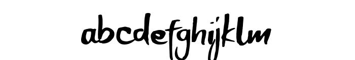 Breakout Font LOWERCASE