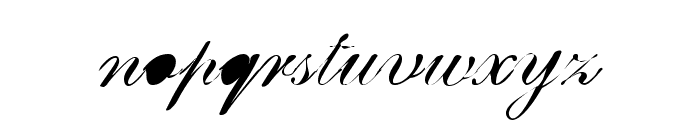 BreastBomb Font LOWERCASE