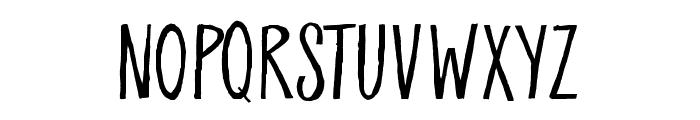 Breathe Easy Font UPPERCASE