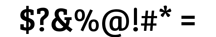 Bree Serif Regular Font OTHER CHARS