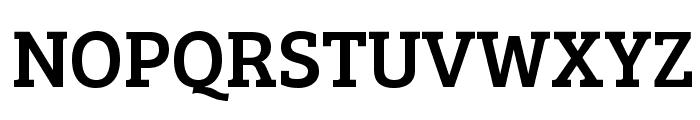Bree Serif Font UPPERCASE