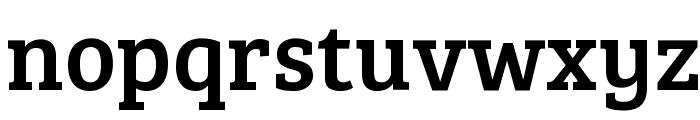 Bree Serif Font LOWERCASE