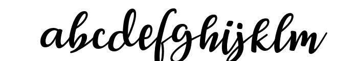 Breetty Italic Font LOWERCASE