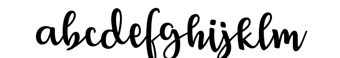 Breetty Font LOWERCASE